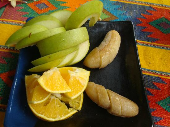 Calico Mission House: Fresh local fruit