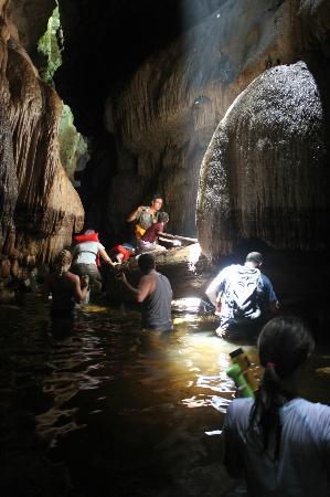 Xplora Panama Day Tours: Bayano Caves: Underground River Trekking Adventure