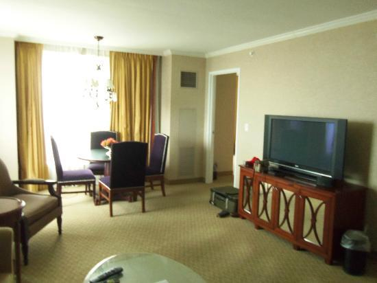 Harrah's New Orleans: Views of the room
