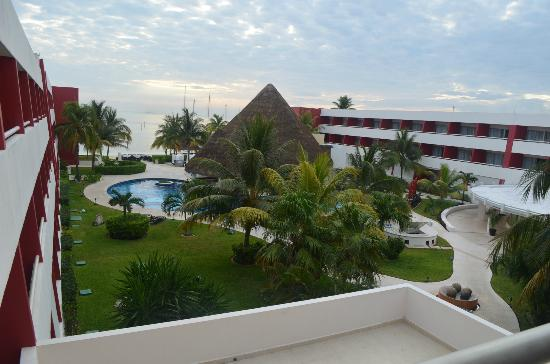 Temptation Cancun Resort.: This is the view from our room we enjoyed