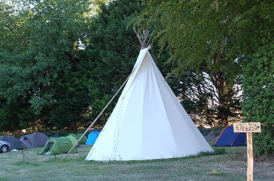 Camping de l'Aumone : Tipi