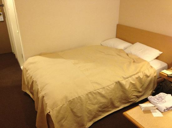 Bed 140 Cm.Double Bed 140cm Width Pushed To Wall Picture Of Hotel Granvia