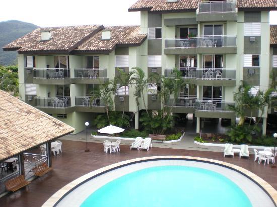 Cachoeira do Bom Jesus, SC: vista desde el balcón y habitación