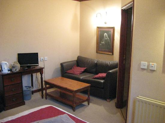 Langtrys: Room two, spacious, includes a sofa