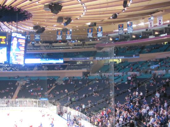 Madison Square Garden: Seating Areas Of Madison Square Garden From Section 102