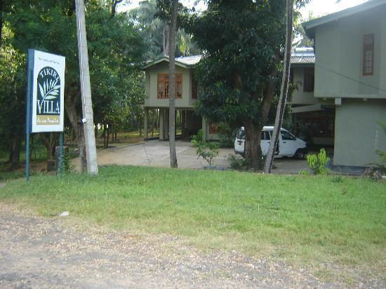 Mahiyangana, Sri Lanka: front view of the hotel