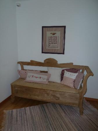 Maso Vaia: un accogliente divanetto