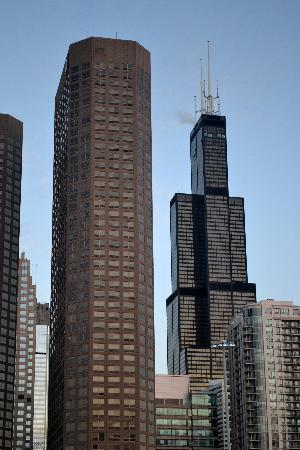 Crowne Plaza Chicago West Loop: View of the Willis Tower