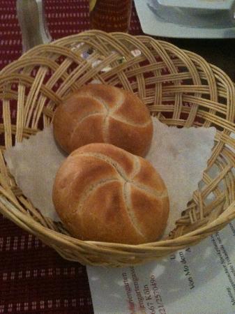 GASTSTAETTE IM MARIENGARTEN: Fresh Bread!