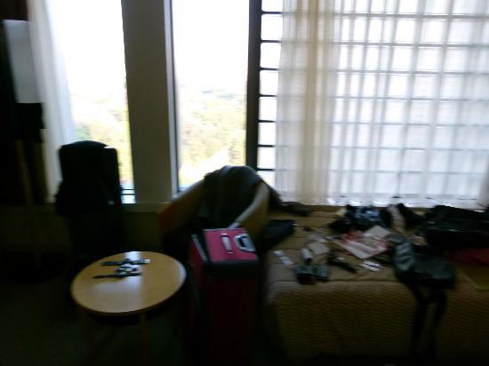 Hotel Grand Arc Hanzomon: Zimmer Fensterfront