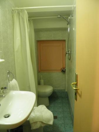 Hotel Palazzuolo: Baño