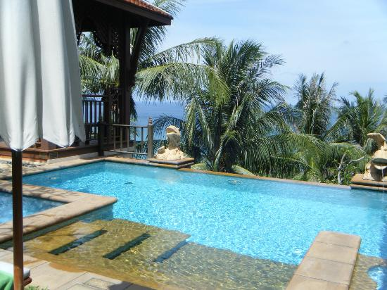 Diamond Cliff Resort and Spa: villa pool