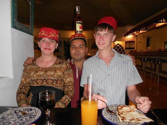 Taba Hotel and Nelson Village: ужин