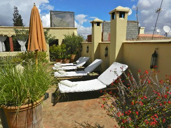 Riad Azzar : Terrace
