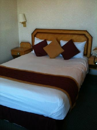 Copthorne Hotel Plymouth: bed is comfortable best thing about this hotel