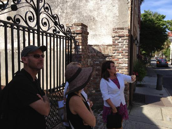 The Original Charleston Walks: getting the lowdown from Andrea!