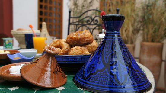 Riad Tafilag : Petit déjeuner