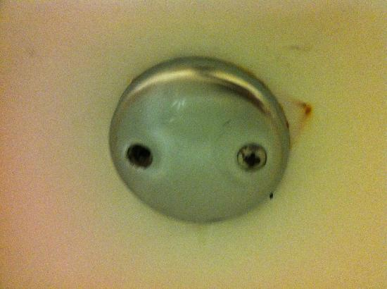 Sheraton Reston Hotel: Rust marks in bath tub