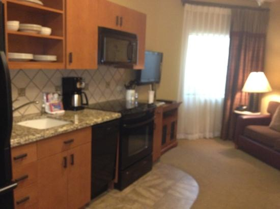 Cibola Vista: 1 bedroom junior kitchen/sitting area