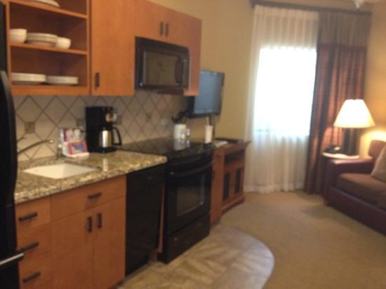 بلوجرين سيبولا فيستا ريزورت آند سبا: 1 bedroom junior kitchen/sitting area