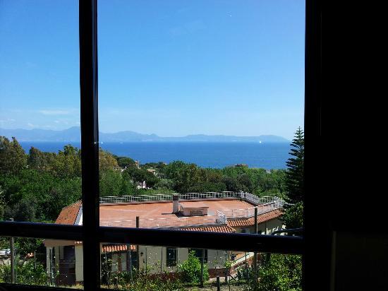 Rosiello: Vista 2 da veranda