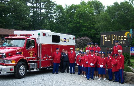 Tall Pines Motel: Firemen Weekend