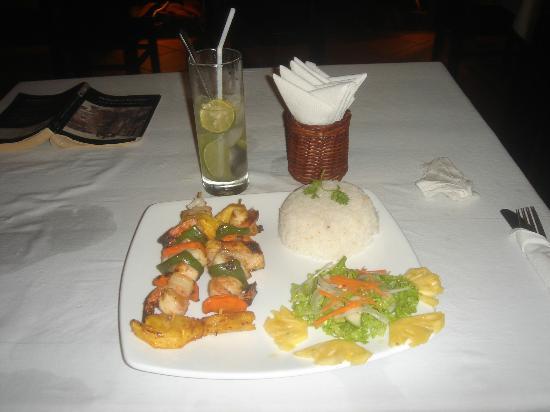Дуонг-Донг, Вьетнам: seafood kebab