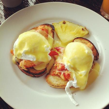 Travaasa Hana, Maui: Lobster Benedict