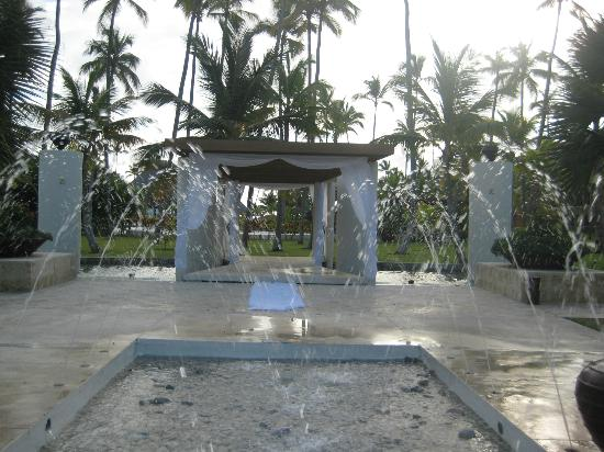 Now Larimar Punta Cana Center Fountain Area Many Wedding Hen Here