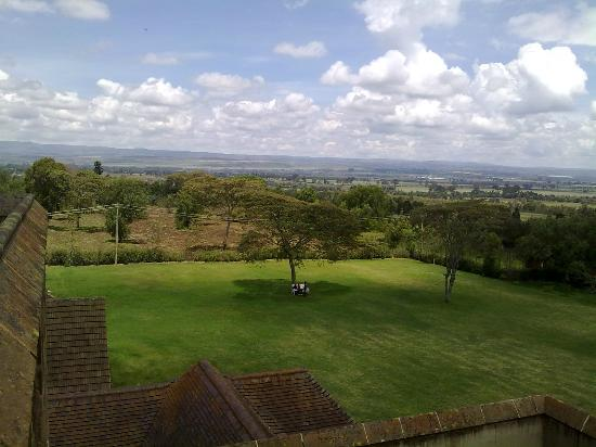 Nakuru, Kenya: view from the top of the castle