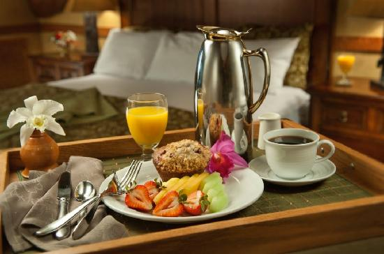 Dobyns Dining Room : In-room Breakfast