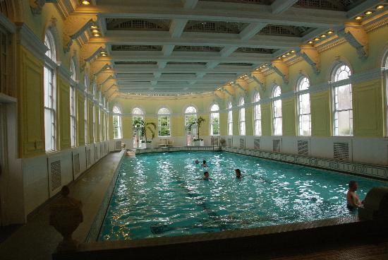 The Omni Homestead Resort: The indoor pool