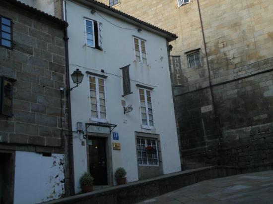 Casa Hotel As Artes: Entrada