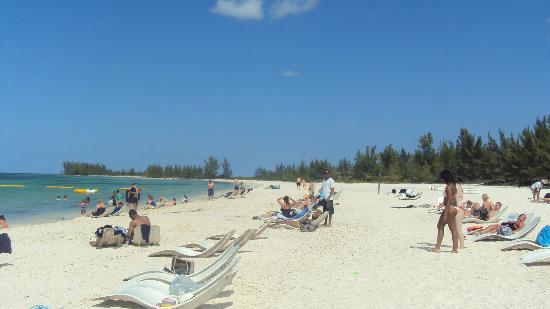 Isla Pasion: Vista de  la playa