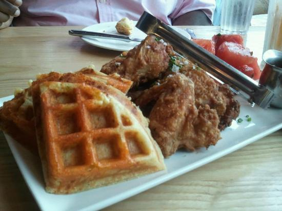 Yardbird - Southern Table & Bar : CHIK, WAFFLES, WATERMELON; great kids meal, easy to share