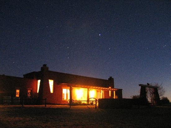 La Hacienda de Sonoita: Night sky over La Hacienda
