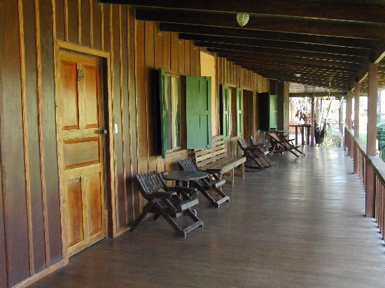 Laguna del Lagarto Lodge: Blick auf die Lodge