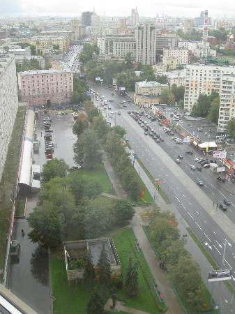 Holiday Inn Moscow Sokolniki: view from room 2202