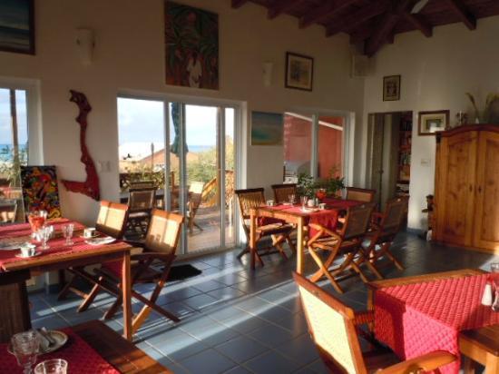Shannas Cove Resort: Dining area