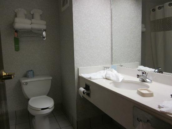 Clarion Inn: Bathroom