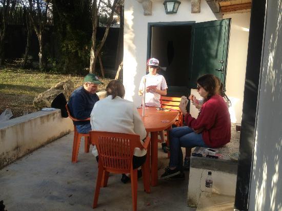 Sotto la Palma : Outside our cottage