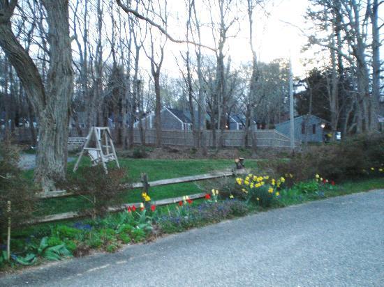 ذي إيرل أوف ساندويتش موتل: Another part of the front yard with swing