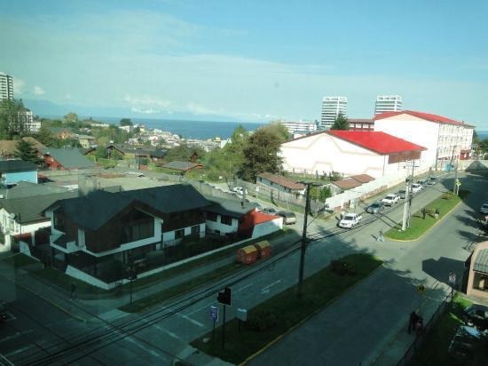 Hotel Manquehue Puerto Montt: Vista desde la habitación