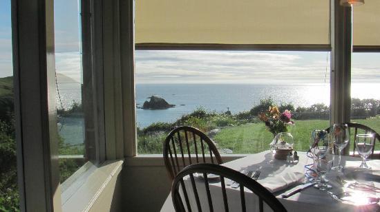 Albion River Inn Restaurant: views