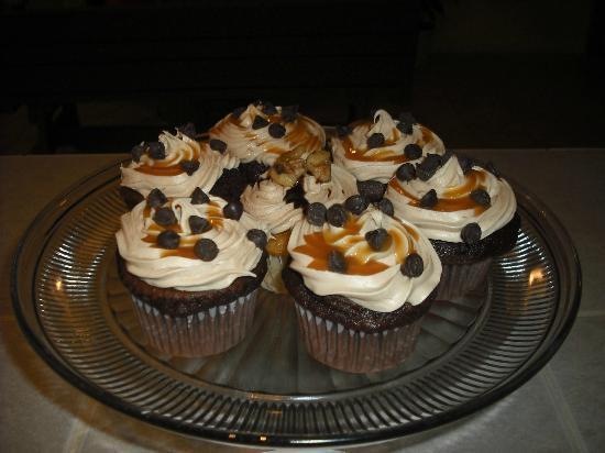 Smooch Cafe: Delicous cupcakes!