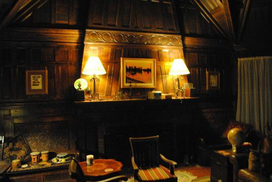 Carruth House : The Fireplace in the common room