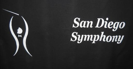 San Diego Symphony: outer sign