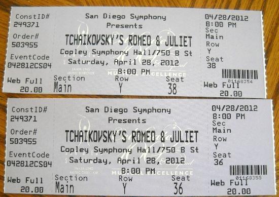 San Diego Symphony: ticket info