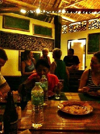 Liquid Dumaguete: restaurant and bar area