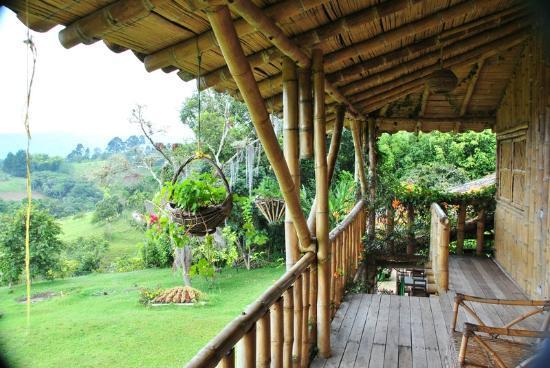 Finca El Cielo : Room porch